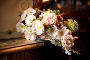 wedding bouquet, Prestonfield House Hotel, Edinburgh