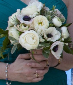 Bridesmaid's posy.